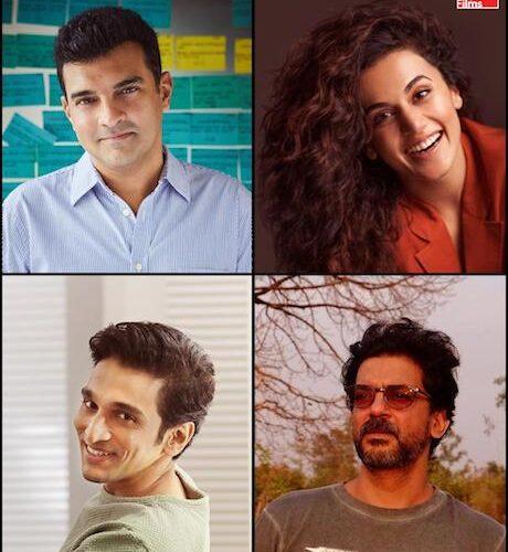 Roy Kapur Films' Next Film Woh Ladki Hai Kahaan? To Star Taapsee Pannu And Pratik Gandhi