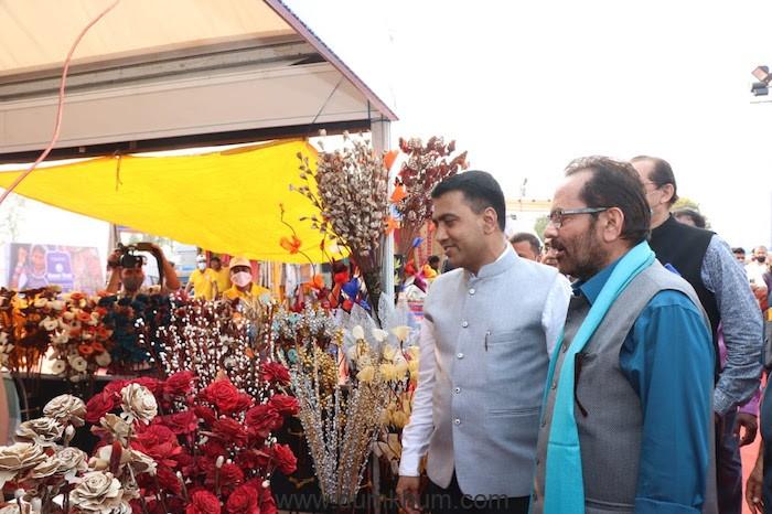 "28th ""Hunar Haat"", Inaugurated at Kala Academy, Panaji, Goa"