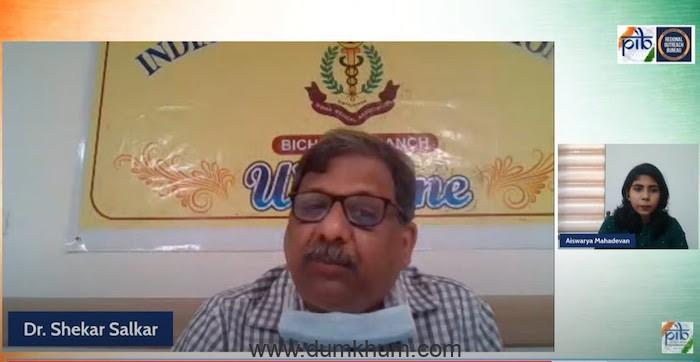 """""""Vaccines are effective"""" says Dr. Shekhar Salkar"""