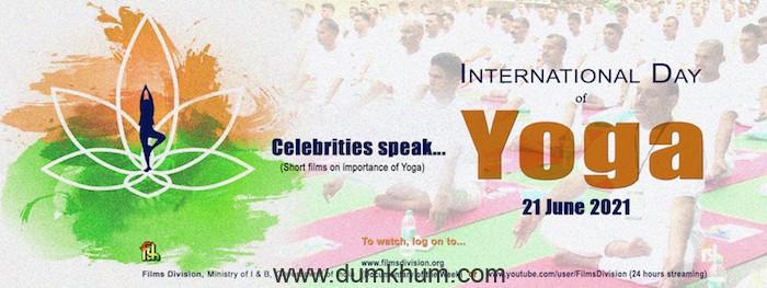 Films Division Celebrates International Day of Yoga on 21st June 2021