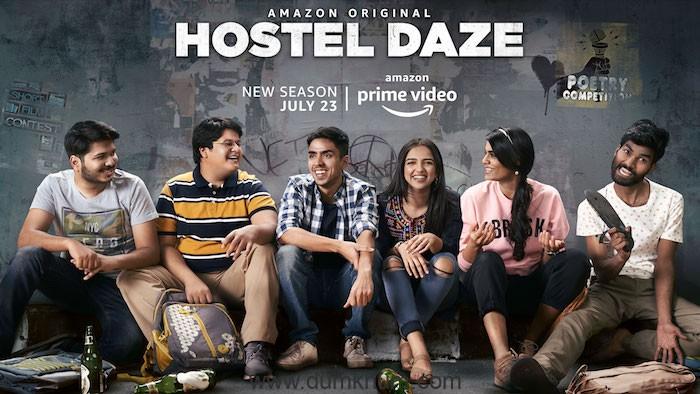 AMAZON PRIME VIDEO DROPS THE TRAILER OF HOSTEL DAZE SEASON 2