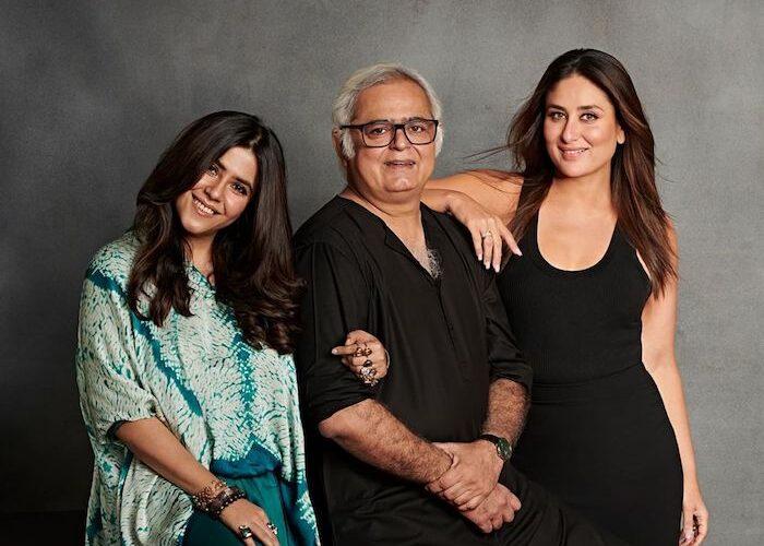 Kareena Kapoor Khan joins hands with Ekta Kapoor and Hansal Mehta to mark her debut as a Producer
