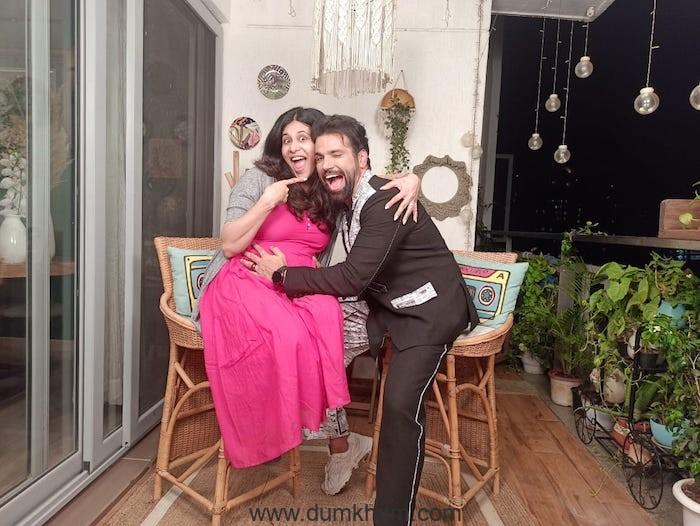 Pyar Kii Yeh Ek Kahani actors Rithvik Dhanjani and Kishwer Merchant reunite!