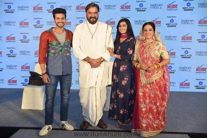 Azaad Announces its Originals – Meri Doli Mere Angana & Pavitraa Bharose Ka Safar