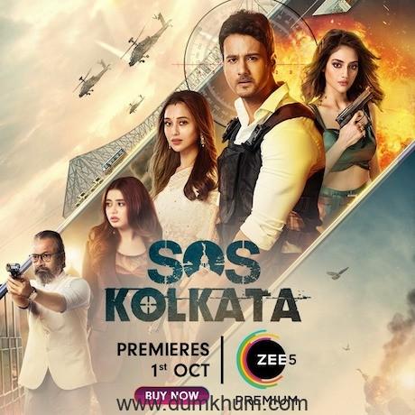 Nusrat Jahan and Yash Dasgupta's film 'SOS Kolkata' Premiere's worldwide on ZEE5 on 1st October