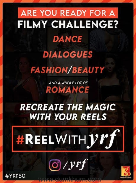 YRF and Facebook partner to launch first-ever studio-led Instagram Reels campaign