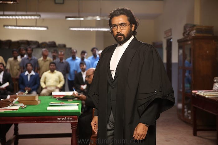 Suriya shares the reason for playing a lawyer for the first time in Jai Bhim